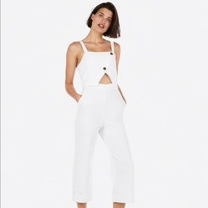 White Express jumpsuit